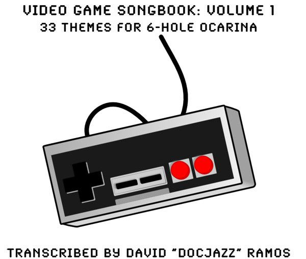 Video Game Songbook for the 6 Hole Ocarina