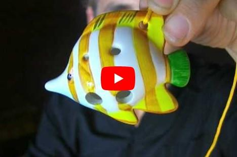 The Yellow Fin Fish Ocarina
