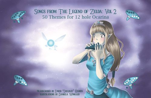 Zelda Songbook II for 12 Hole Ocarina (PDF Download)