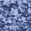 Easy Breather Washable Filtered Face Mask - Blue Camo