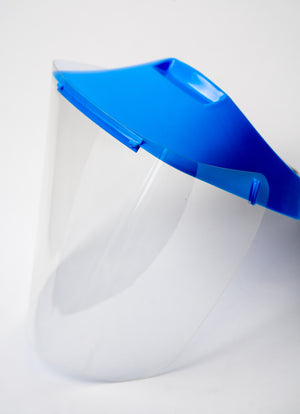 No Headache® Safety Visor Shield, with replacement shields.