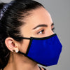 Washable Filtered Cloth Face Mask - Adult Black