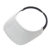 Dot White Original Visor - No Headache