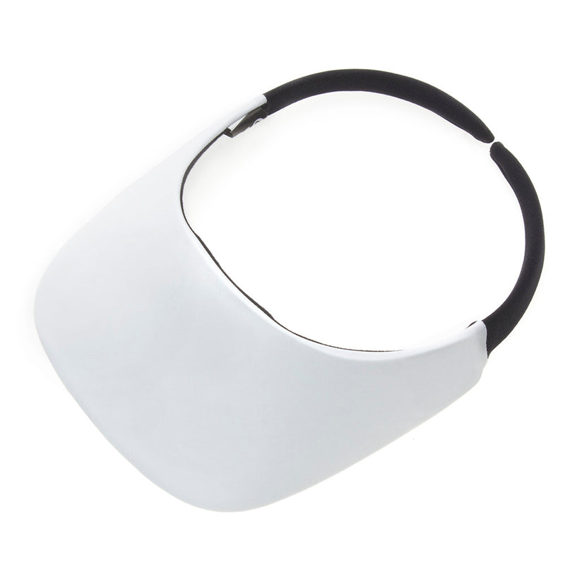 White Original Visor - No Headache