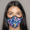 Easy Breather Washable Filtered Face Mask - Lavender Floral