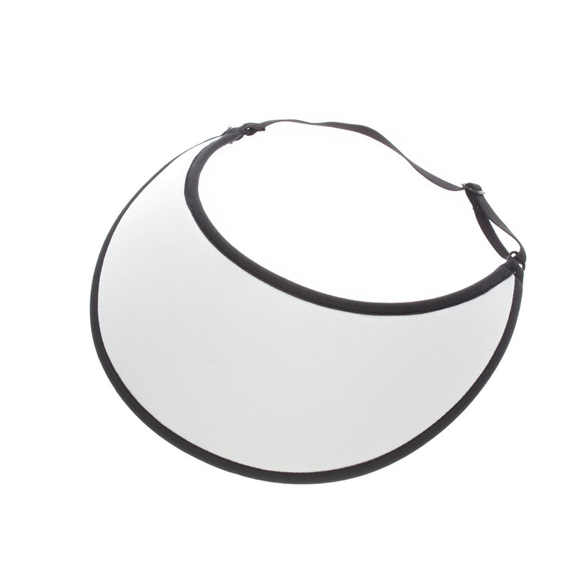 Lites White Adjustable Visor