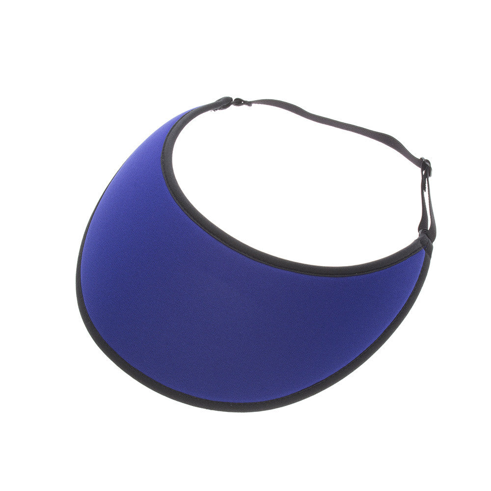 Lites Royal Blue Adjustable Visor - No Headache