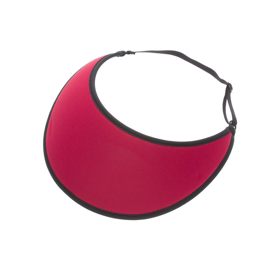 Lites Red Adjustable Visor - No Headache