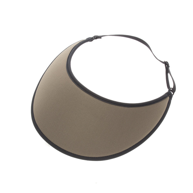 Lites Khaki Adjustable Visor - No Headache