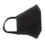 No Headache PPE, Face Mask - Black - Side View