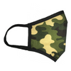 No Headache PPE, Face Mask - Green Camo - Side View