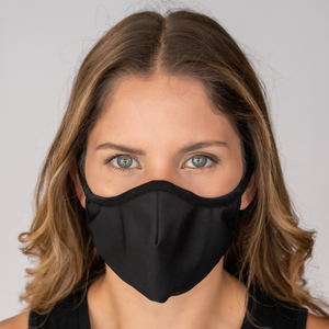 Easy Breather Washable Filtered Face Mask - Black