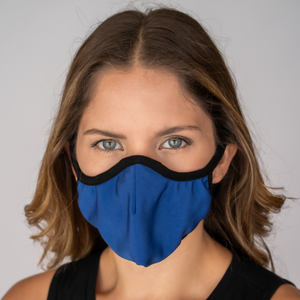 Easy Breather Washable Filtered Face Mask - Royal Blue