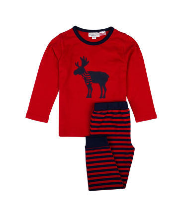 Gingerlilly - Deer Print Boy Pj Set