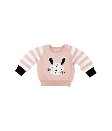 Gingerlilly - Daisy Bunny Baby Girl Jumper