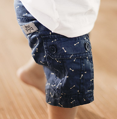 IKKS - Bermuda Baby Arrow print Shorts