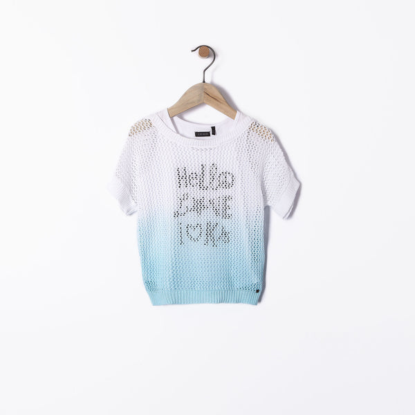 IKKS - Back To Summer Turquoise Jumper