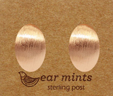 Brushed Almond Earrings