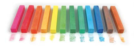Square Chalk Sticks