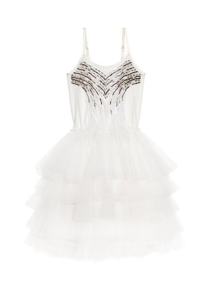 SWAN SONG TUTU DRESS - MILK