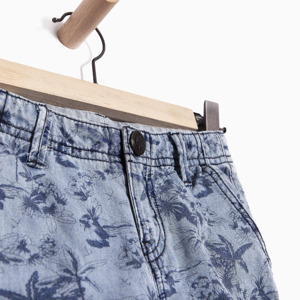 IKKS - Blue Bermuda Shorts