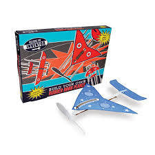 Inventor Rubber Band Plane Set