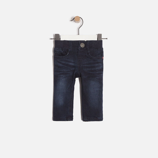 Marine Denim Pantalon