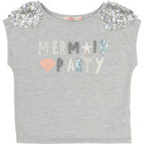 Silver Mermaid Party T-Shirt