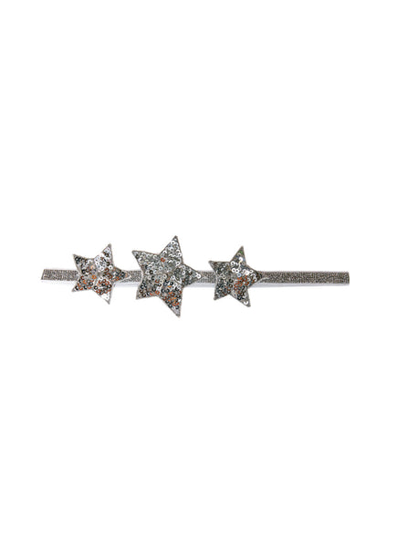 SHOOTING STAR HEADBAND - SILVER