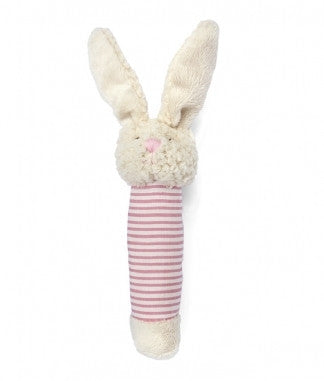 Bella Bunny Baby Rattle - Pink