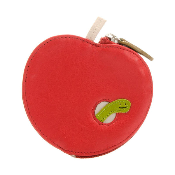 Apple Leather Purse