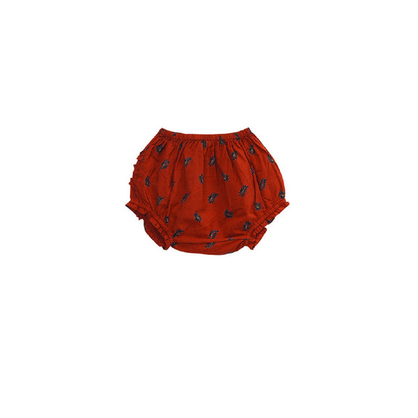 Terracotta Cotton Cecily Bloomers