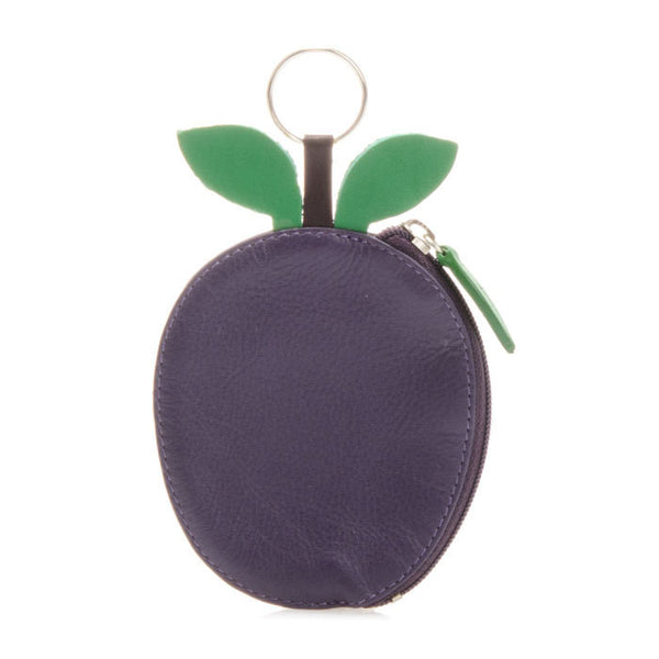 Plum Leather Purse