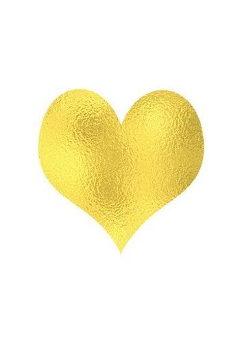 Gold Heart Poster