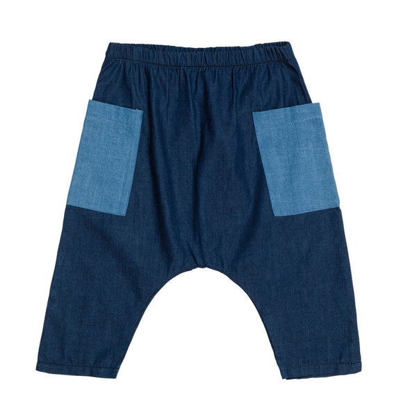 Baobab : Chambray Baby Baggy Pants