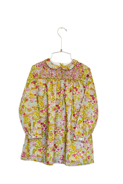 Margaret Dress L/S - DustyPink