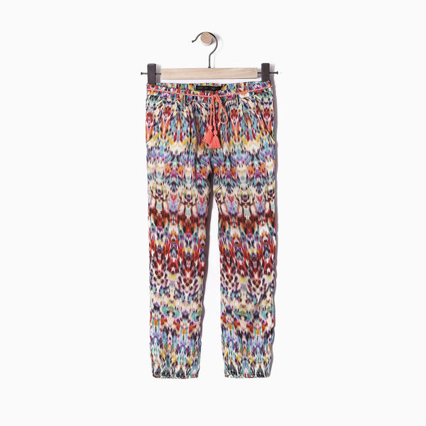 IKKS -Kaleidoscope Pantalon Girls Cotton Trousers