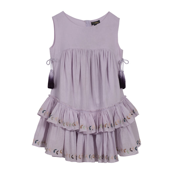 Maddie Dress Lilac Cotton Voile