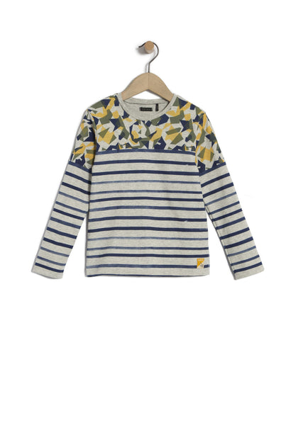 IKKS - Boys' sailor T-Shirt / TS Mariniere ML