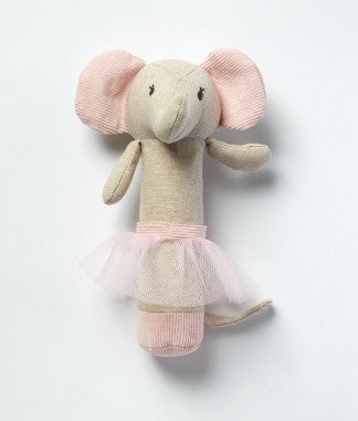 The Elephant Baby Rattle - Emme