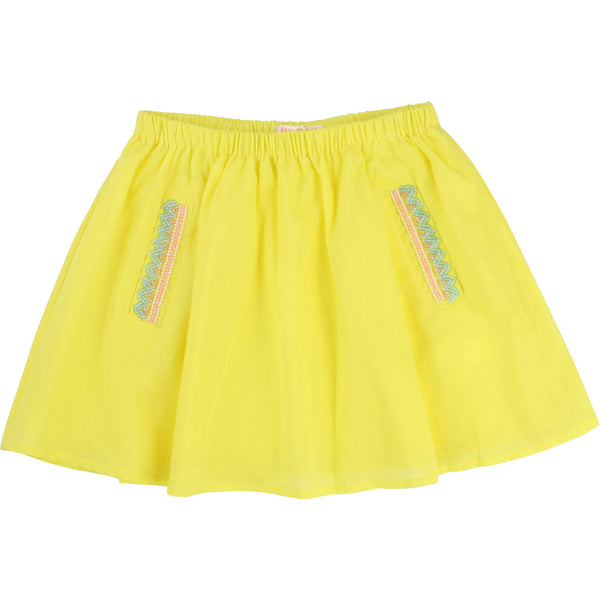 Sunny Skirt with Pearls