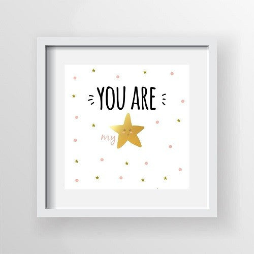 You are my Star Canvas