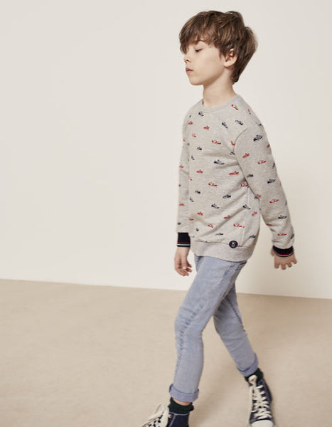 IKKS - Boys' fleece sweatshirt / Sweat Imprime