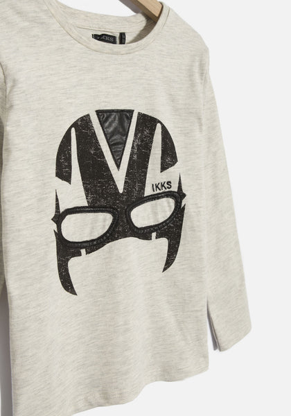 IKKS - Boys' Wrestling Mask Shirt