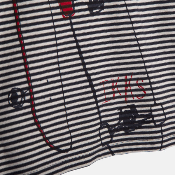 IKKS - Have Fun 2 in 1 Navy & Striped T-Shirt