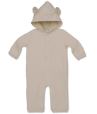 Caramel Velour Bear Suit