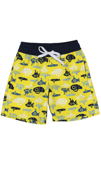 Dylan Yellow Boardshorts