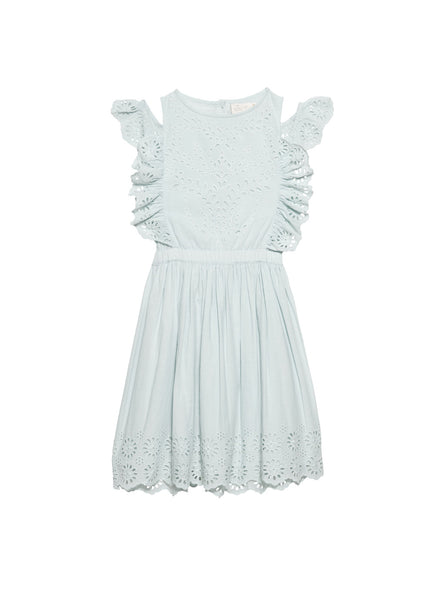 INDIAN SUMMER DRESS -MILK