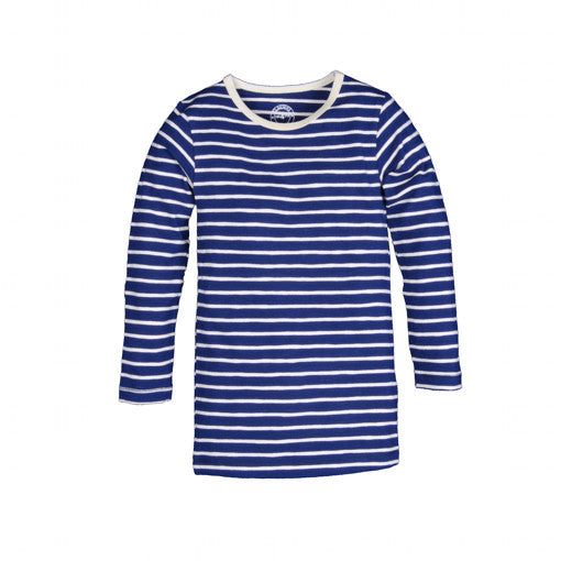 Claesen's : Boys LS Navy Stripes T-Shirt