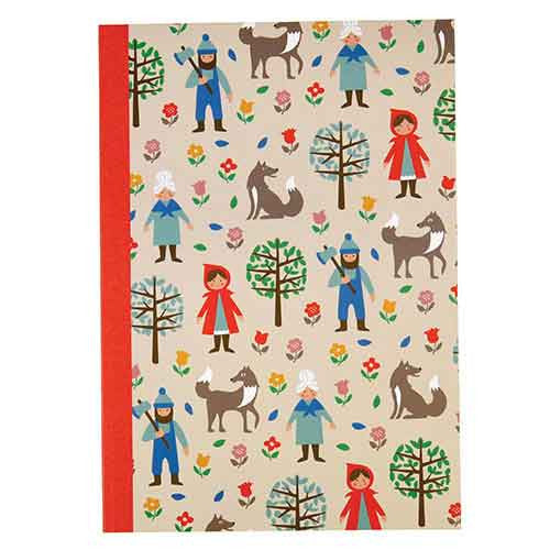 A5 Notebook - Red Riding Hood